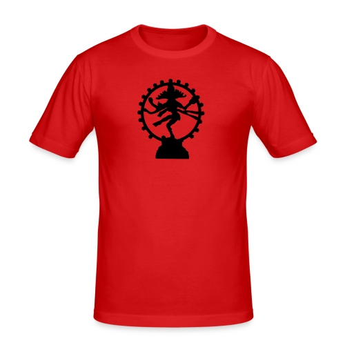 Shiva - Männer Slim Fit T-Shirt