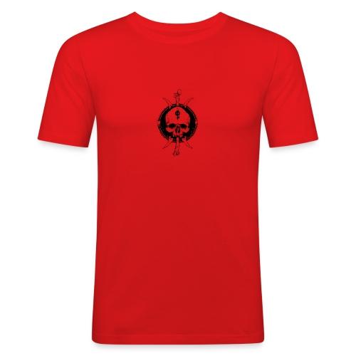 skull vikinger - Männer Slim Fit T-Shirt