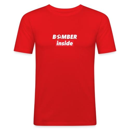 bomber inside - Maglietta aderente da uomo