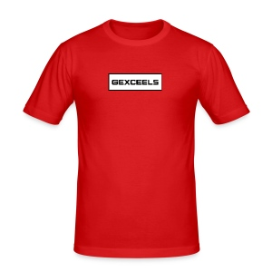 Gexceels Box - Slim Fit T-skjorte for menn