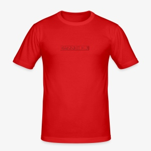 Hannes Logo4 v4 - Männer Slim Fit T-Shirt