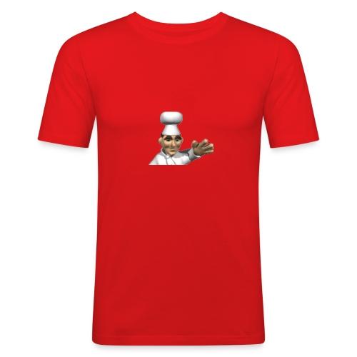 Chef - Men's Slim Fit T-Shirt