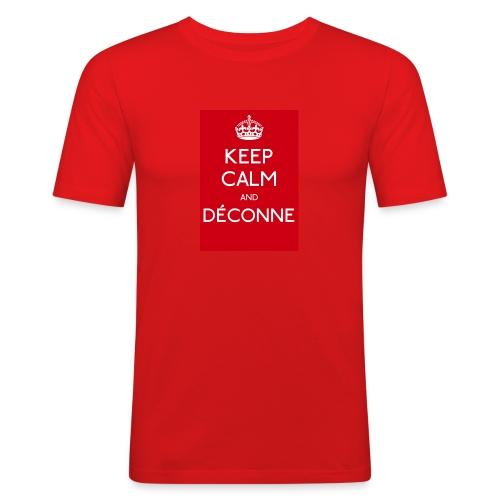 KEEP CALM - T-shirt près du corps Homme