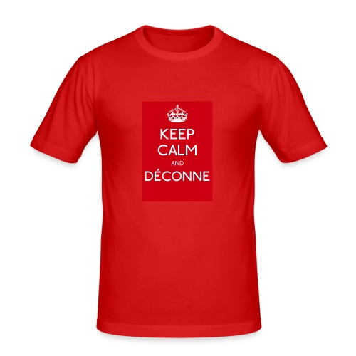 KEEP CALM - T-shirt près du corps Homme