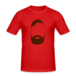 The Mighty Beard - Men's Slim Fit T-Shirt