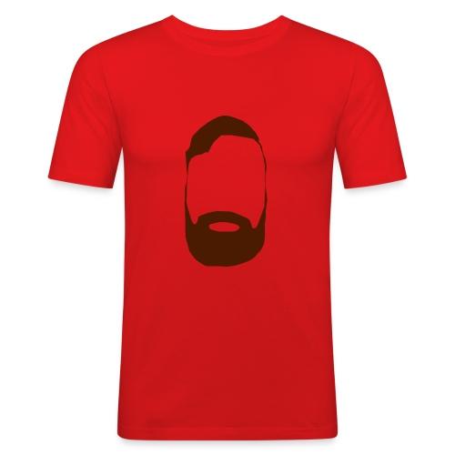 The Mighty Beard - Men's Slim Fit T-Shirt
