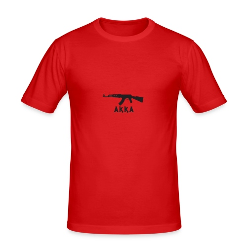 AKKA - Maglietta aderente da uomo