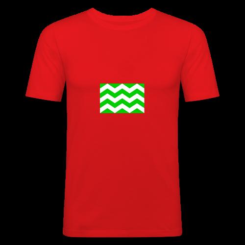 Vlag westland kassen - slim fit T-shirt