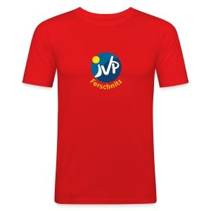JVP Logo 1 Rund - Männer Slim Fit T-Shirt