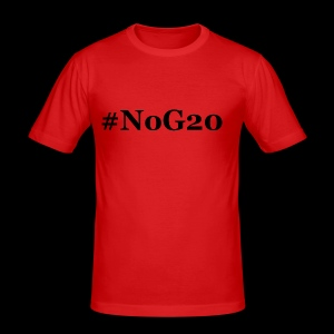 #NoG20 - Männer Slim Fit T-Shirt