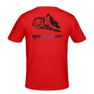 Go-Diving - Tee shirt près du corps Homme