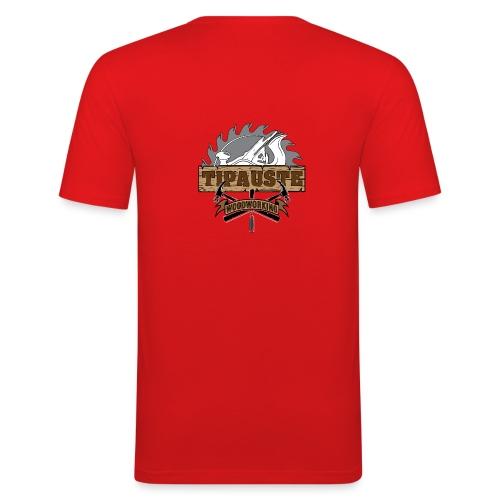 Logo Tipauste WoodWorking #1 - T-shirt près du corps Homme