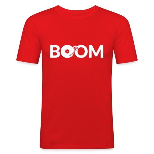 DJ Boom - Men's Slim Fit T-Shirt