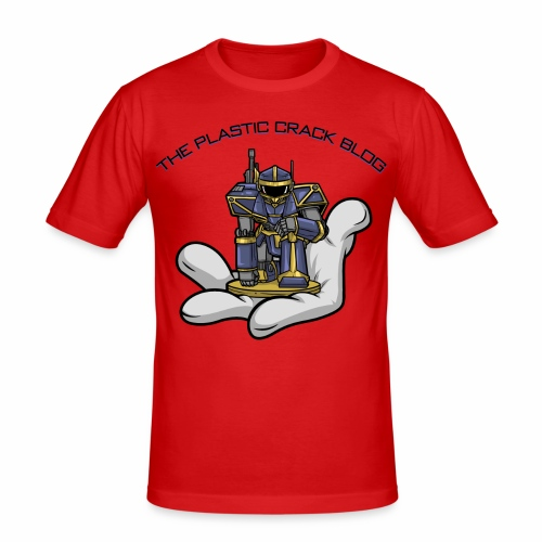 Plastic Crack Blog - Men's Slim Fit T-Shirt
