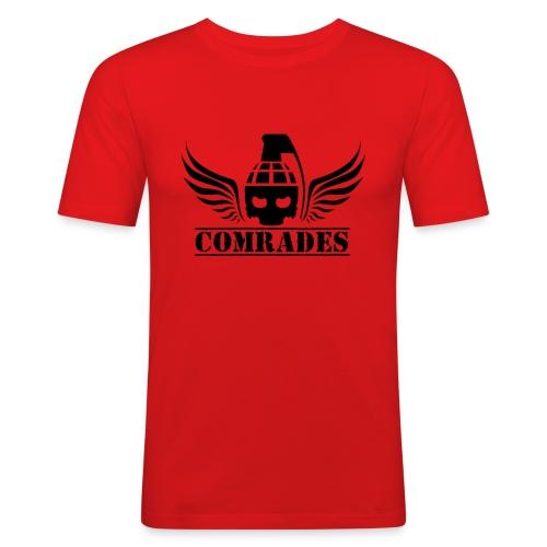 comrade LOGO black - T-shirt près du corps Homme