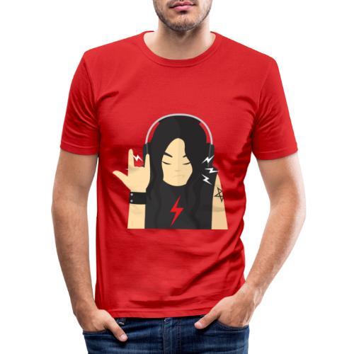 Rock regalo - Camiseta ajustada hombre