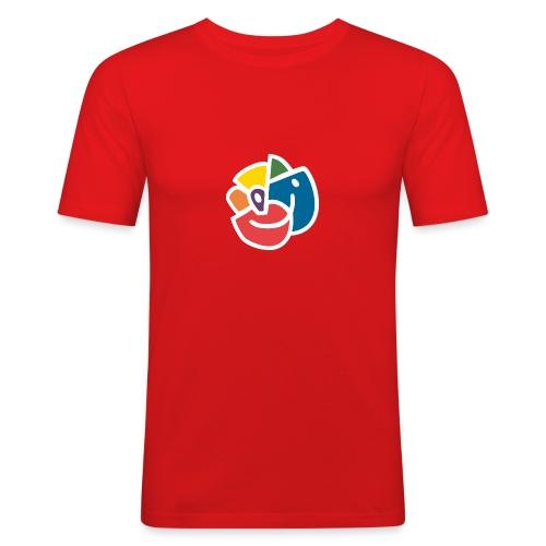 Mångfaldsros - Slim Fit T-shirt herr