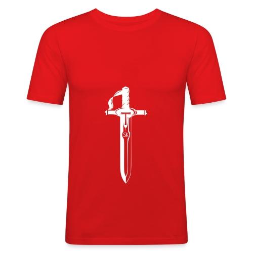 Tērauds Logo - Men's Slim Fit T-Shirt