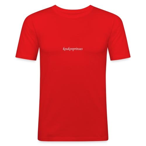 Keukenprinses1 - Mannen slim fit T-shirt