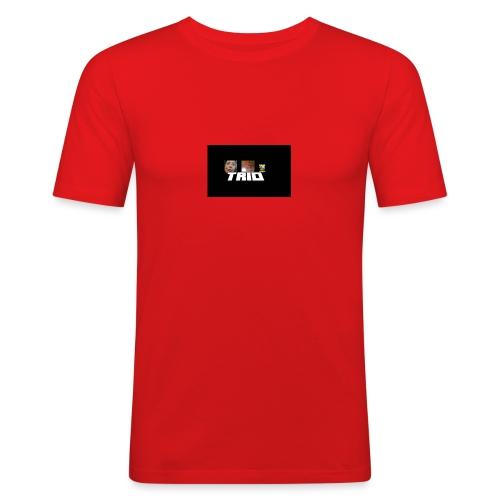 TRIO - Maglietta aderente da uomo