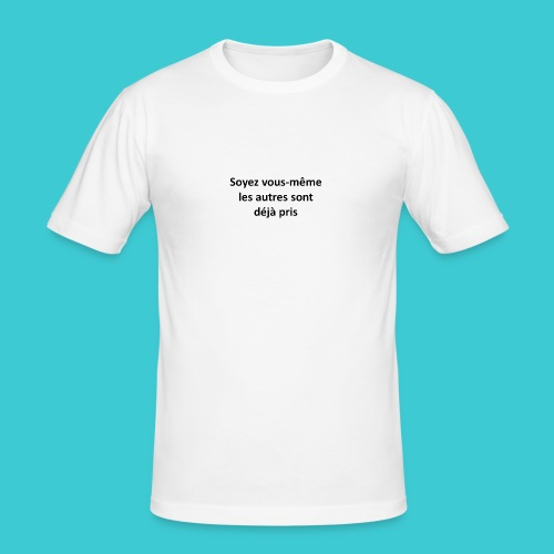 soi meme - T-shirt près du corps Homme