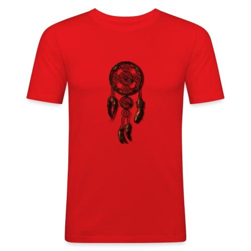 SCACCIA_SOGNI_OK-png - Maglietta aderente da uomo
