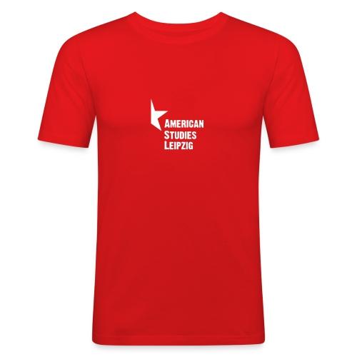 asl quad invers - Männer Slim Fit T-Shirt