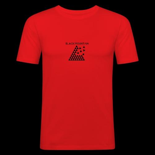 Black Mountain - T-shirt près du corps Homme