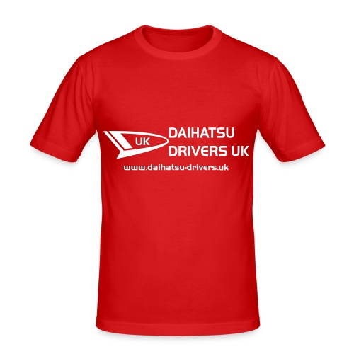 DD Logo 1 2014 Edition - Men's Slim Fit T-Shirt