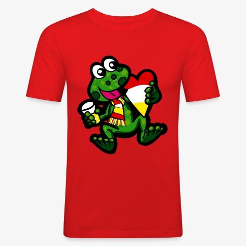 Oeteldonk Kikker - Mannen slim fit T-shirt