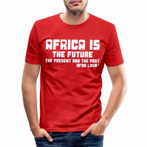 Africa is the Future - T-shirt près du corps Homme