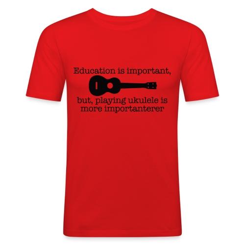 Important Ukulele - Men's Slim Fit T-Shirt