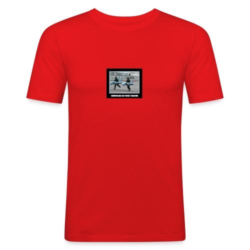 Norges Militær - Slim Fit T-skjorte for menn