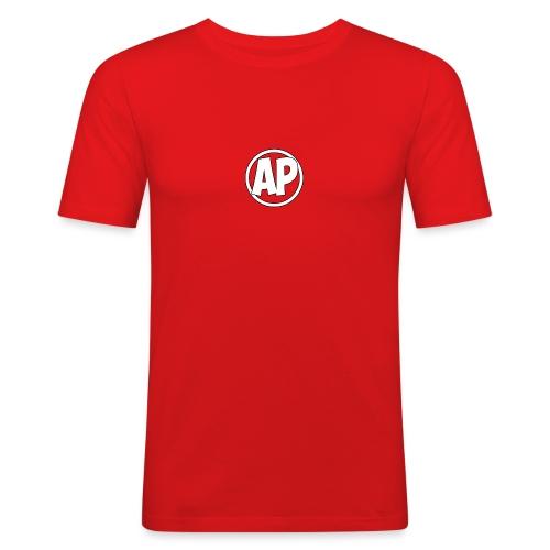Airplayz logo - Mannen slim fit T-shirt