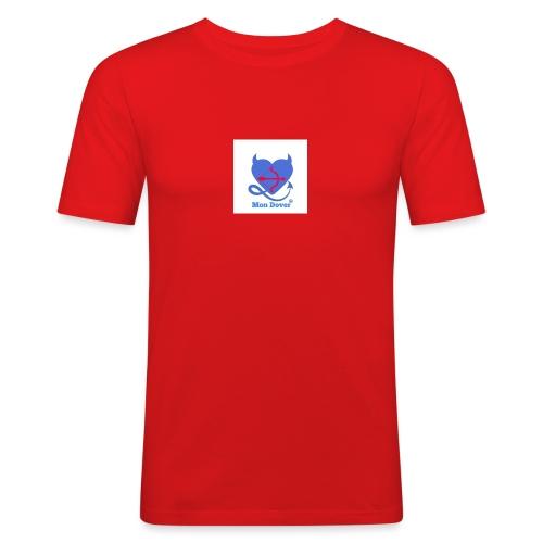 Logo Mon Dover - Maglietta aderente da uomo