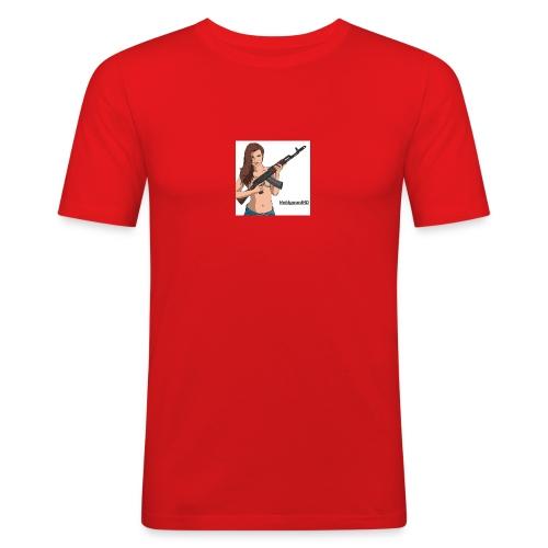 13879460_259076411145254_5106335642089114721_n - Herre Slim Fit T-Shirt
