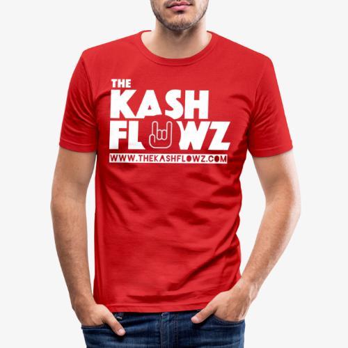The Kash Flowz Official Web Site White - T-shirt près du corps Homme