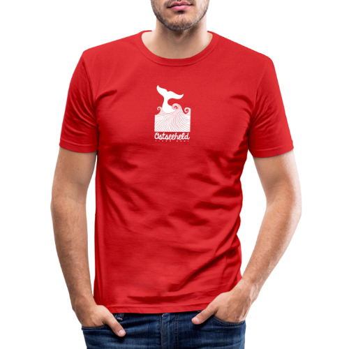 Ostseeheld - Männer Slim Fit T-Shirt