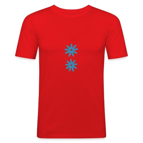 nos 1c x2 ekstralettmelk - Slim Fit T-skjorte for menn