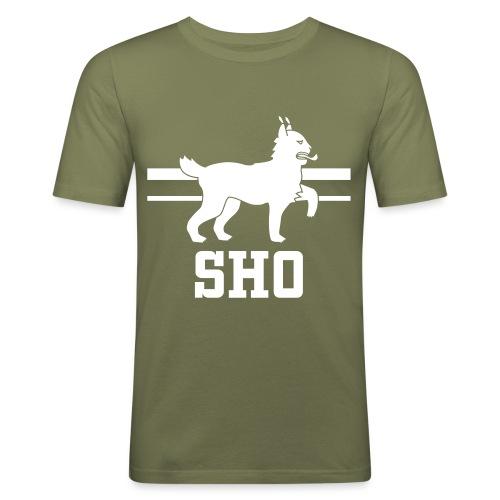 SHO Häme - Miesten tyköistuva t-paita