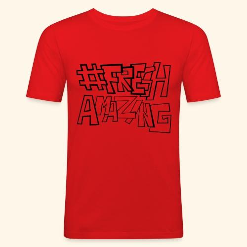 Fresh Amazing New - Männer Slim Fit T-Shirt