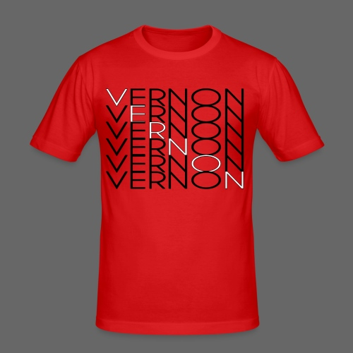 VERNON x6 - Men's Slim Fit T-Shirt