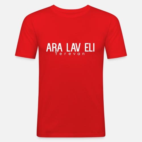 ARA LAV ELI - Mannen slim fit T-shirt