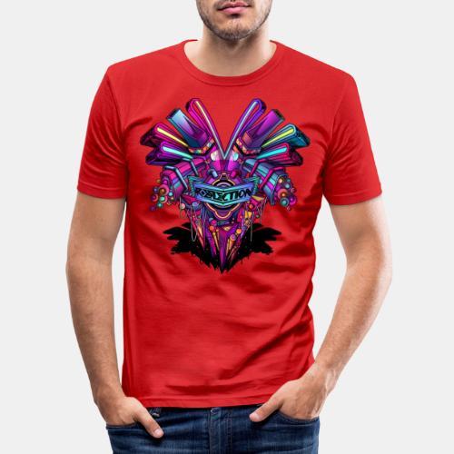 reflectionshirt - Männer Slim Fit T-Shirt