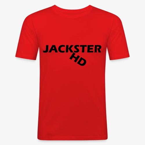jacksterHD shirt design - Men's Slim Fit T-Shirt