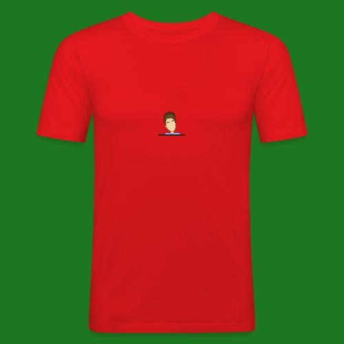Heren t--shirt cartoon Lewis - Mannen slim fit T-shirt
