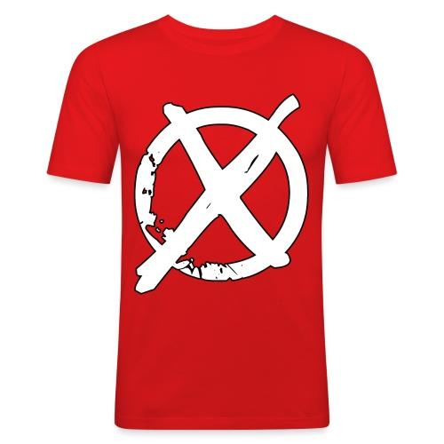 Tony Cole - Modern Straight Edge - Men's Slim Fit T-Shirt