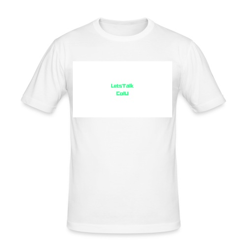 LetsTalk ColU - Men's Slim Fit T-Shirt