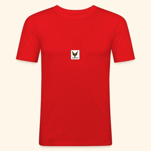feeniks logo - Miesten tyköistuva t-paita