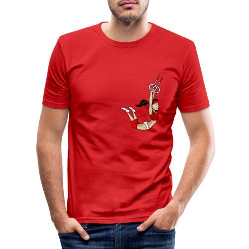 The flying girl - Männer Slim Fit T-Shirt